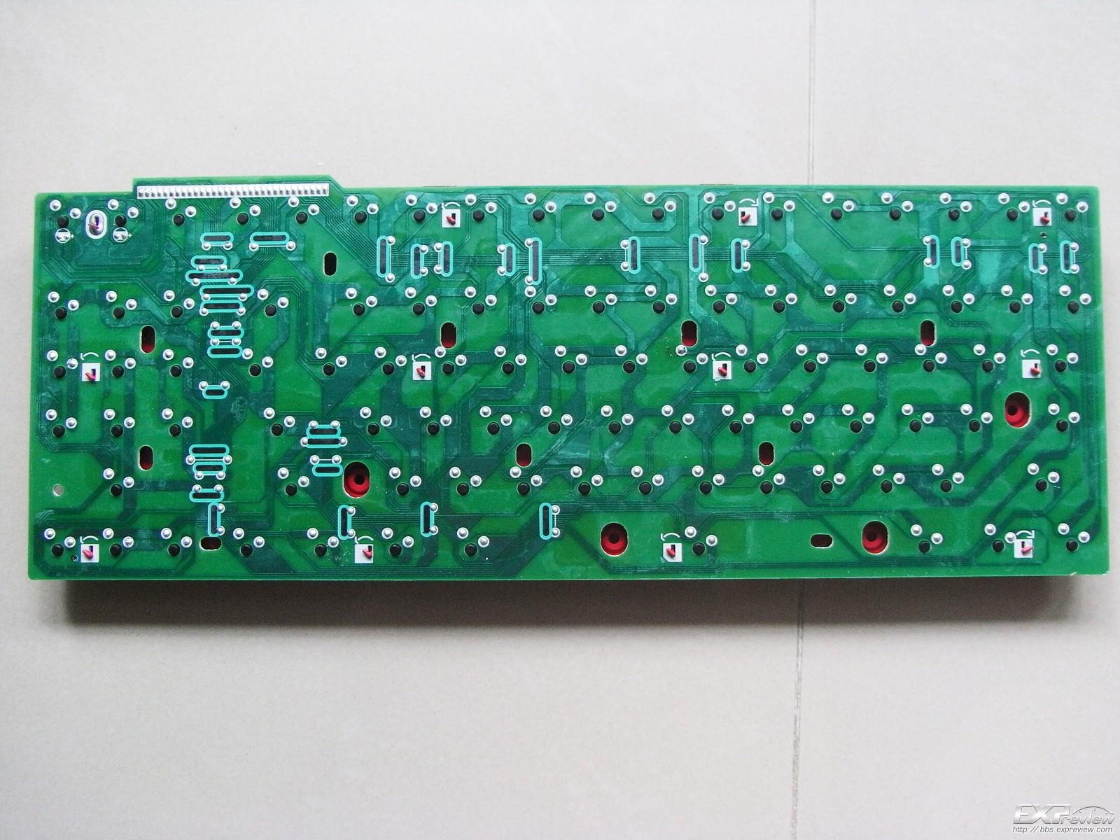 机械键盘pcb电路板图
